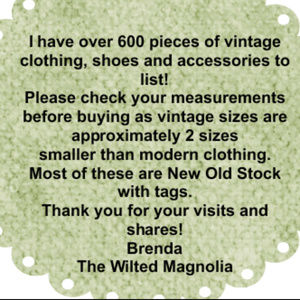 Looking for New Old Stock I've got you covered